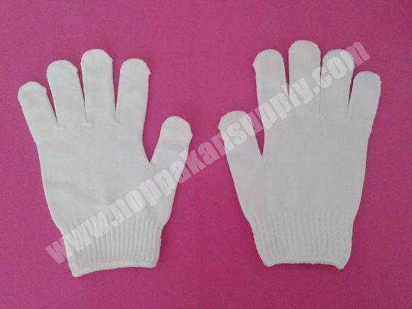 ถุงมือผ้าโพลีเทค