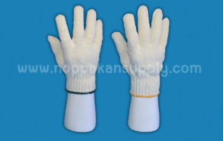 ขั้นตอนการผลิตถุงมือผ้า